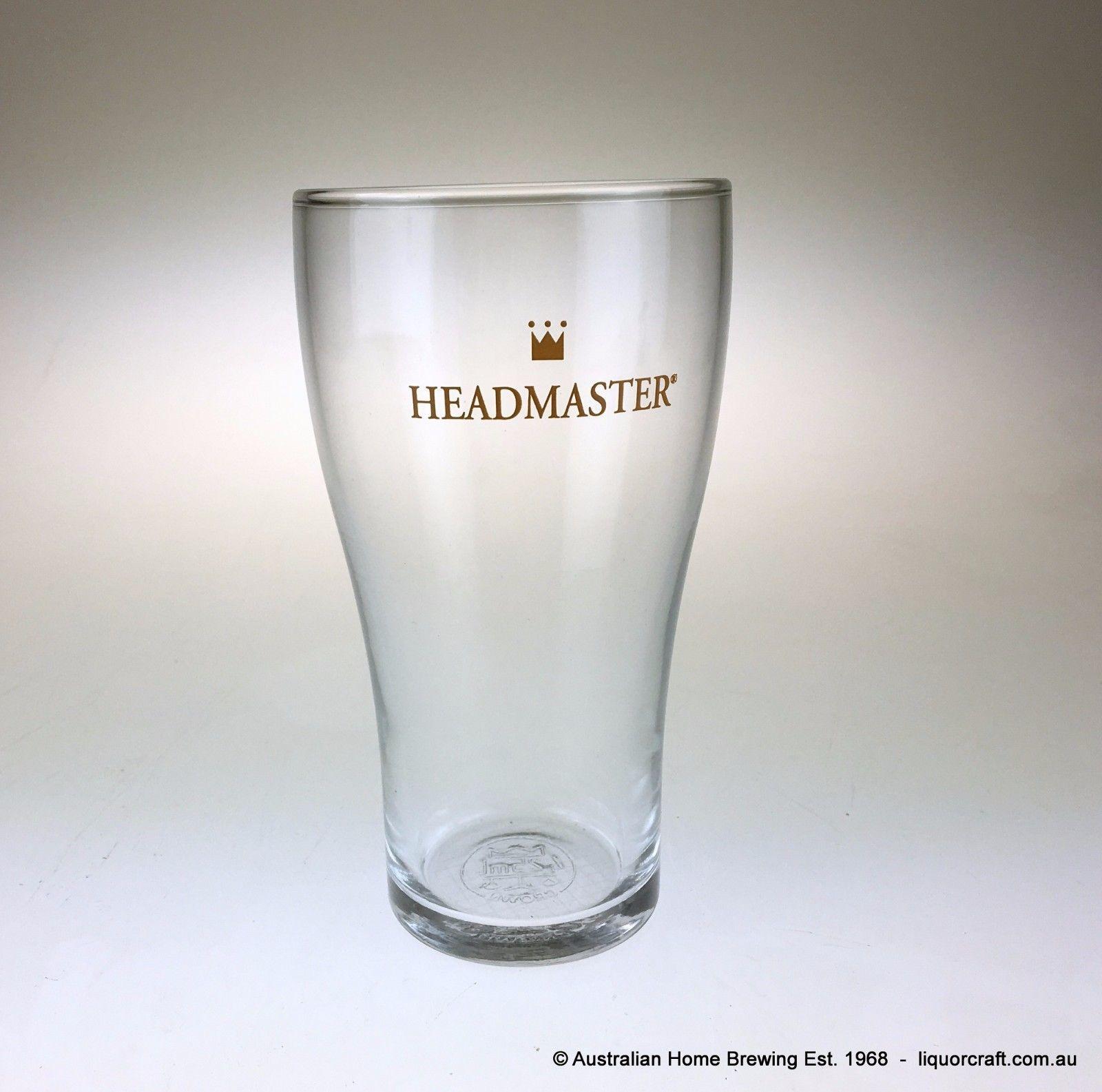 Headmaster Beer Glass 425ml X 12 Schooner Brew Bar Pub Ebay