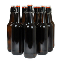 Bottle 750ml Amber Flip Top Glass ctn 12 image