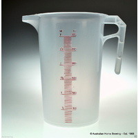Jug Polypropylene 3L graduated measuring image