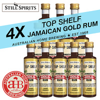 Still Spirits Top Shelf Jamaican Gold Rum 4 Pack image