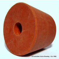 Rubber bung 35-41mm + hole image