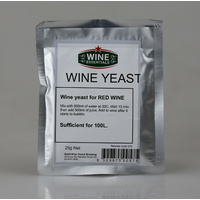 Wine yeast - AHB Red  25g image