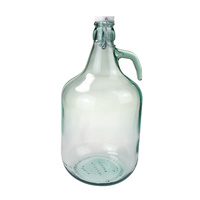 Glass Demijohn 5L with Swing Top Clip - Gallon jar image