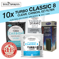 10x Turbo Classic 8 Yeast & Turbo Clear & Turbo Carbon & EZ Carbon & 1x EZ Filter Washers image