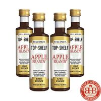 4x Still Spirits Top Shelf Apple Brandy  image