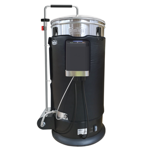 Grainfather G30 SUPER KIT + Graincoat, Hop Spider, Overflow Filter Stainless Steel Paddle, Wortometer, High Performance Cleaner