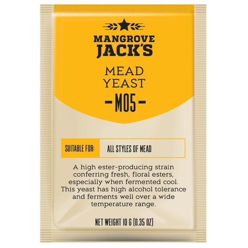 Mangrove Jacks Beer Yeast Mead M05