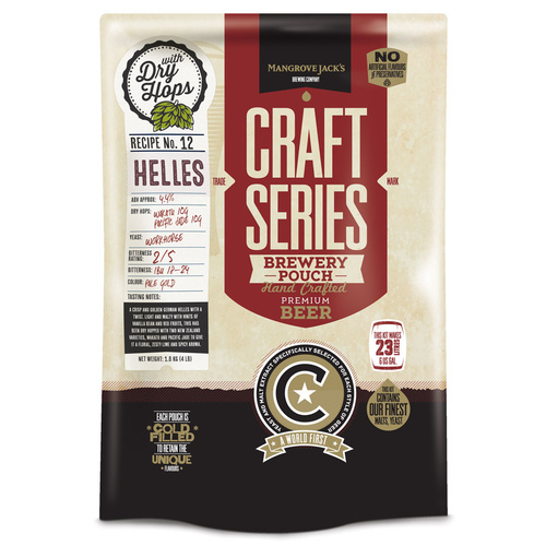 Mangrove Jacks Craft Series Helles Lager