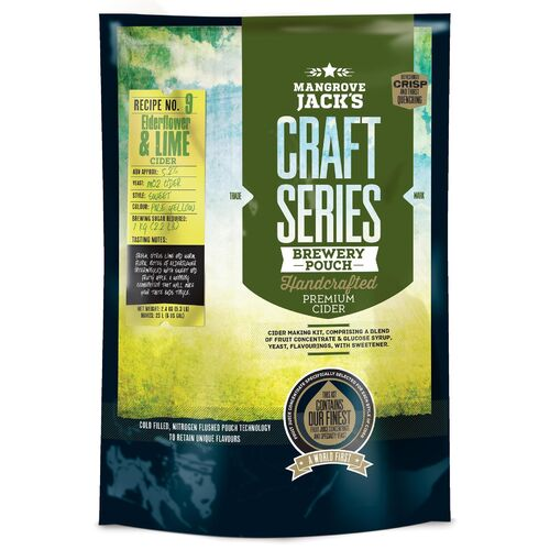Mangrove Jack's Craft Series Cider Elderflower & Lime